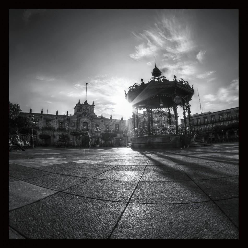 Plaza de Armas, Guadalajara, Jalisco,Mexico