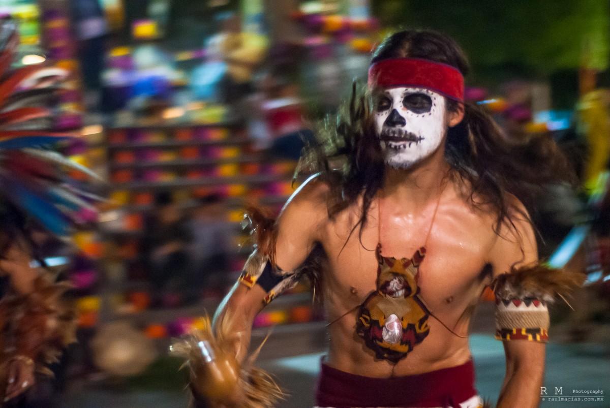 Danzante Dia de Muertos Tlaquepaque 2013